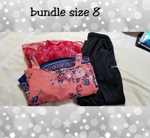 Size 8 bundle w/ dress,pants & skirt